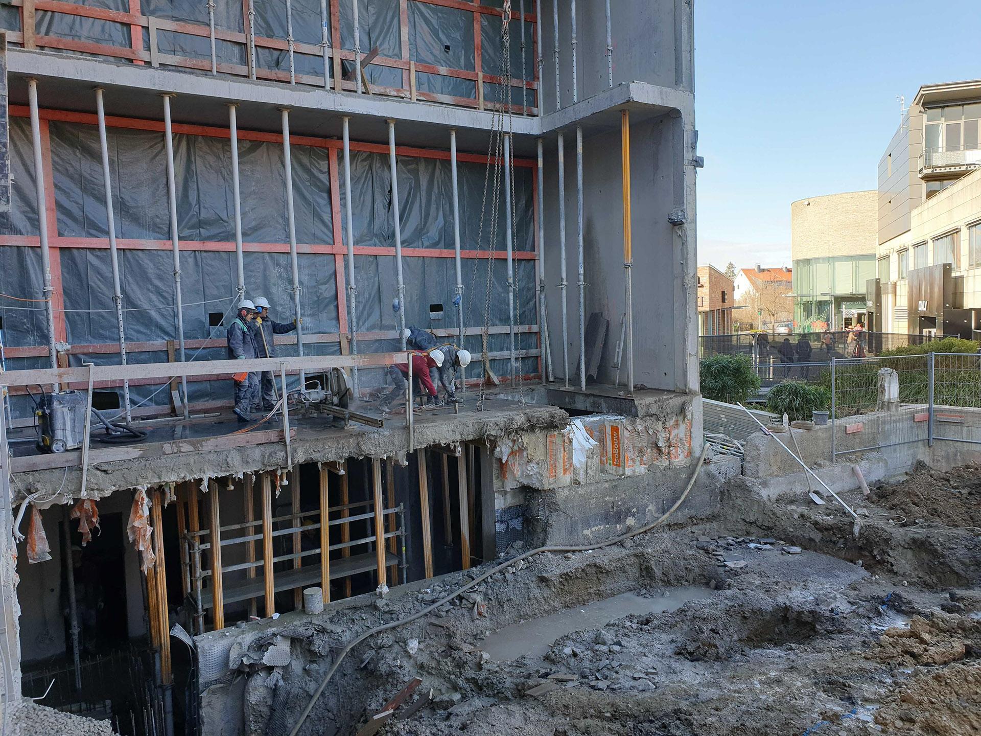 Beton - Bohren und Sägen